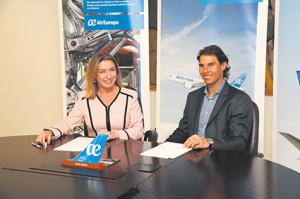 Air Europa será la aerolínea oficial de la Rafa Nadal Academy by Movistar