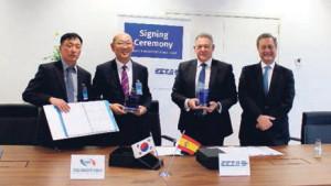CESA firma el contrato LCH/LAH con la empresa coreana Energy&Machinery Korea